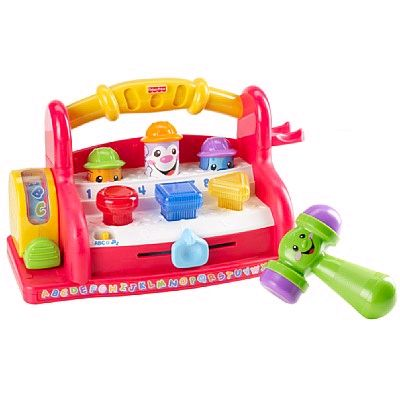 Rent that toy Fisher price tool bench